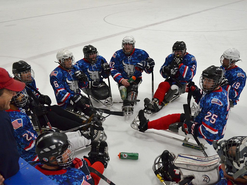 2017 Sled Hockey Camp