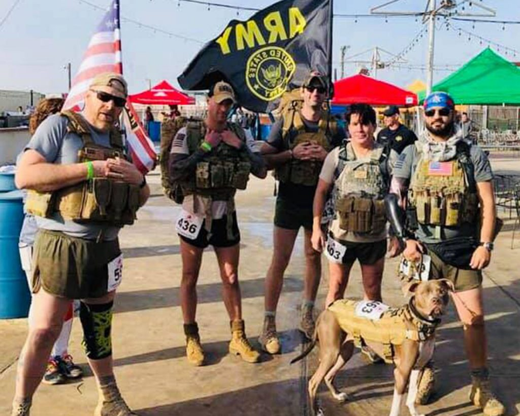 5k Army group pic