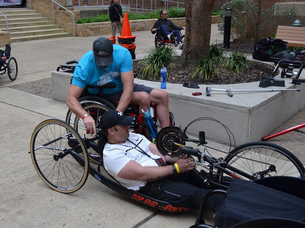 Cycling- Vets helping Vets